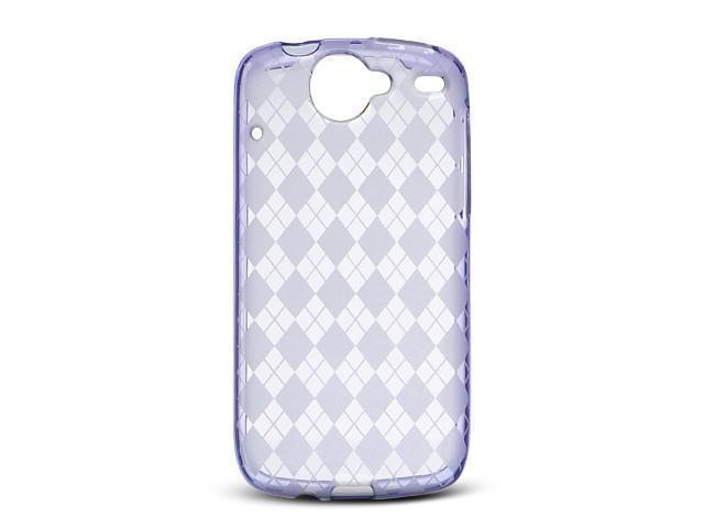 Luxmo Purple Purple Checker Design Case & Covers Google Nexus 1