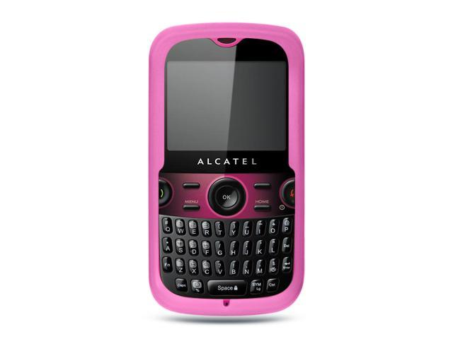 Luxmo Hot Pink Hot Pink Case & Covers Alcatel OT-800A