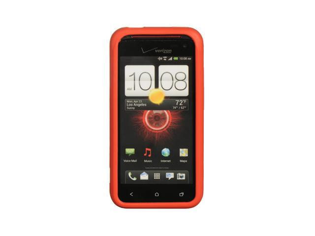 HTC Droid Incredible 4G LTE Red Silicone Skin