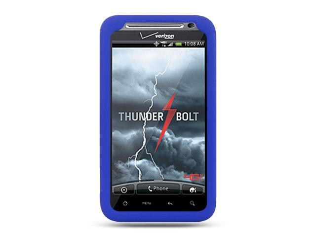 HTC Thunderbolt/HTC Incredible HD/HTC 6400 Blue Silicone Skin