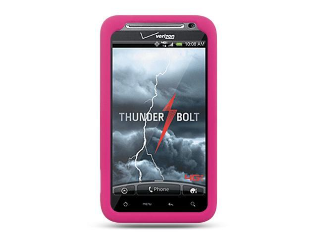 Luxmo Hot Pink Hot Pink Case & Covers HTC Thunderbolt/HTC Incredible HD/HTC 6400