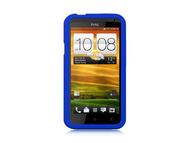 HTC One X Blue Silicone Skin