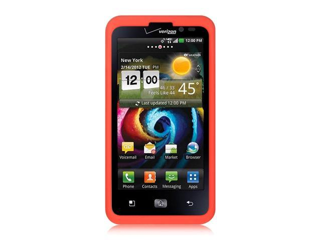 Luxmo Red Red Case & Covers LG Revolution 2/LG Spectrum