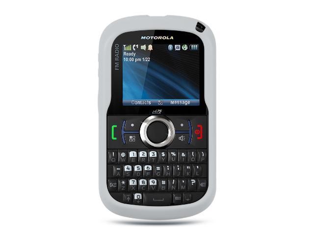 Motorola Clutch/Motorola i475 Clear Silicone Skin