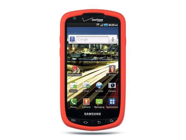 Luxmo Red Red Case & Covers Samsung Droid Charge I510