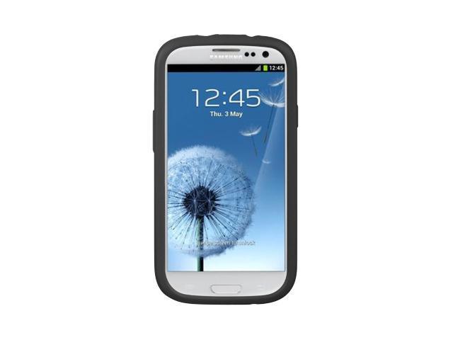 Samsung Galaxy S III/Samsung I9300/Samsung I747 Black Silicone Skin