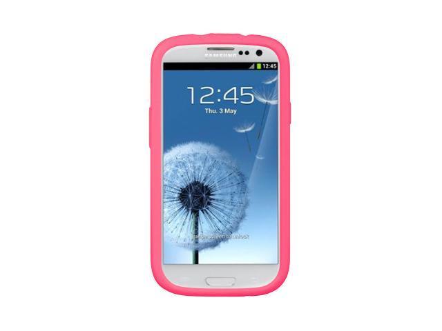 Samsung Galaxy S III/Samsung I9300/Samsung I747 Hot Pink Silicone Skin