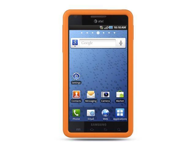 Samsung Infuse 4G I997 Orange Silicone Skin