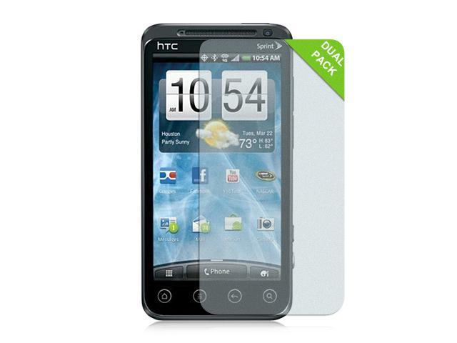 Luxmo Clear Anti-Gloss Case & Covers HTC EVO 3D