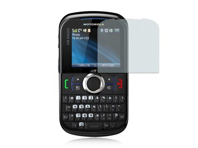 Motorola Clutch/Motorola i475 Anti-Gloss Screen Protector