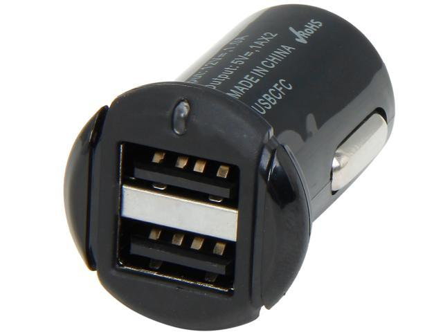 SCOSCHE USBCFC2 Black Dual USB Car Charger for Cameras