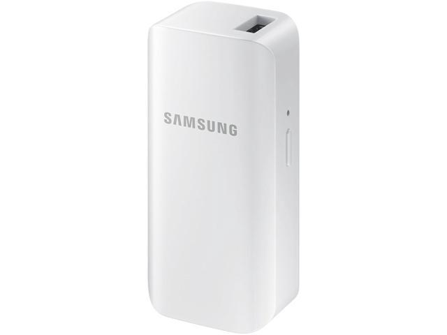 Samsung 2100mAh Universal Battery Pack, White