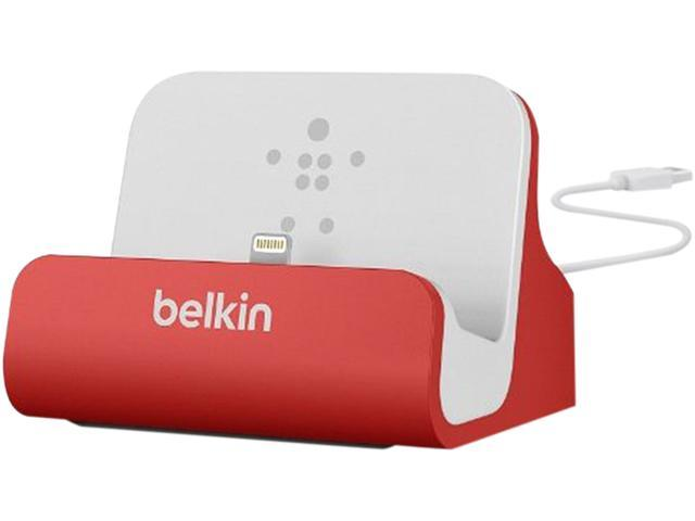 BELKIN F8J045BTRED Red Mixit ChargeSync Dock (Red)
