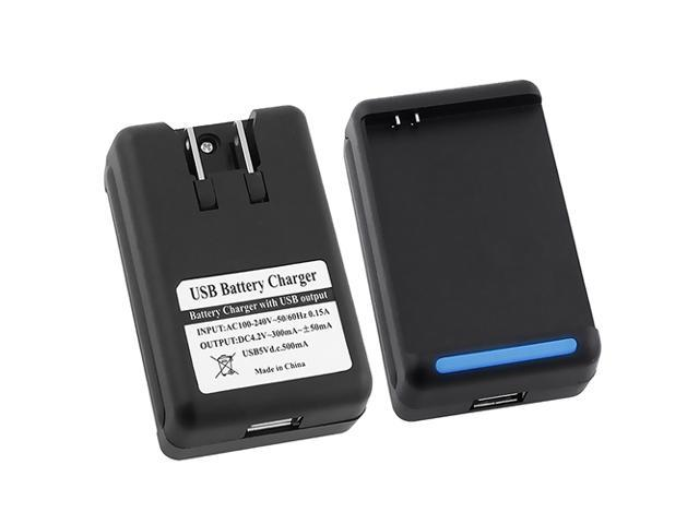 Insten 2x Black USB Dock Wall Battery Charger For Samsung Galaxy Note N7000 i717