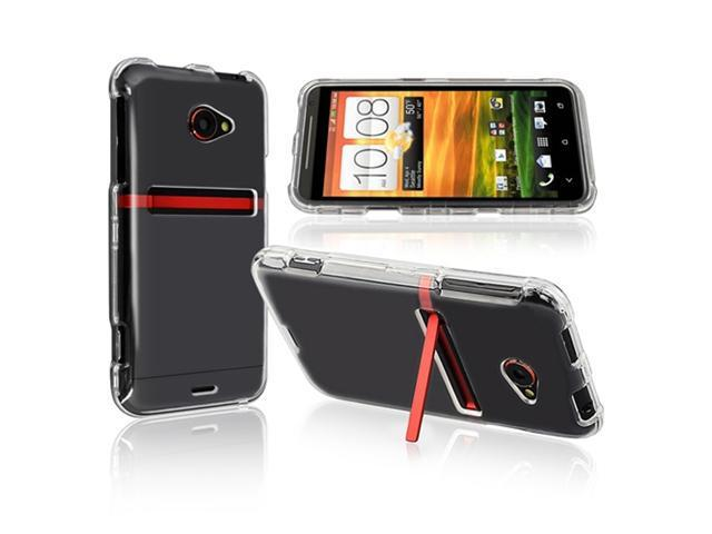 Insten Snap-on Crystal Case Cover compatible with HTC EVO 4G LTE, Clear