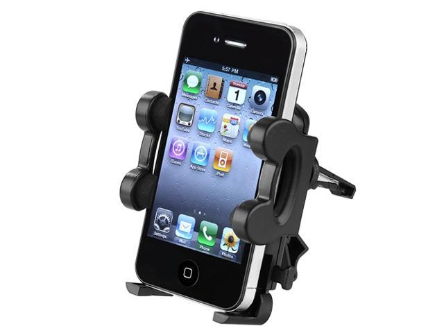 Insten Black Car Air Vent Phone Holder Cradle compatible with the New Apple�� iPhone�� 5