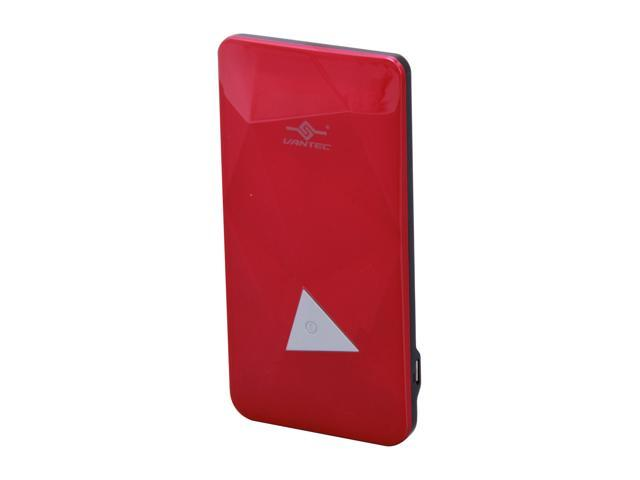 Vantec Power Gem Pink 3500 mAh Rechargeable Portable Battery VAN-350BB-PK