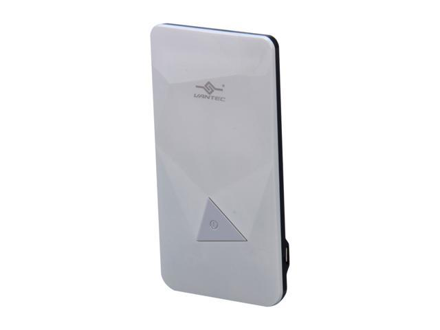 Vantec Power Gem White 3500 mAh Rechargeable Portable Battery VAN-350BB-WH