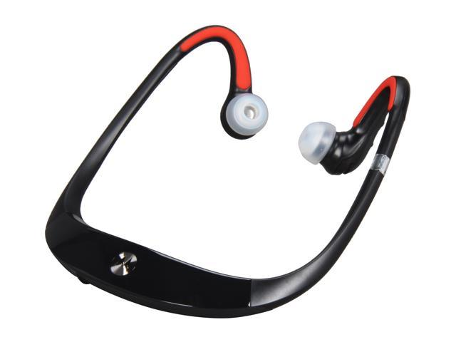 Black Red Motorola S10-HD Bluetooth Stereo Headphone w/ Comfortable Sweat Proof Design