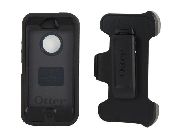 OtterBox Defender Black Solid Case For iPhone 5 / 5s 77-21908