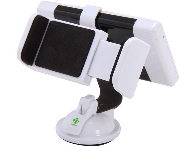 i18 Tech White Solar Power Station w/ 2000mA Battery & Car Phone Holder for Apple Products i18-Apple-PWR-WHT