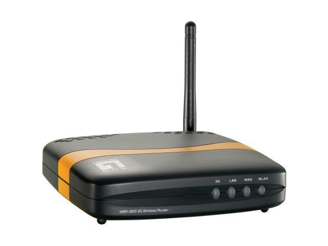 Level One Portable Mobile Wireless Hotspot (WBR-3800)