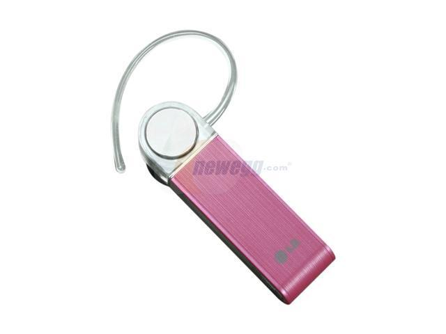 LG Over-the-ear Bluetooth Headset with Dual Microphone Technology Pink Bulk (HBM-570)