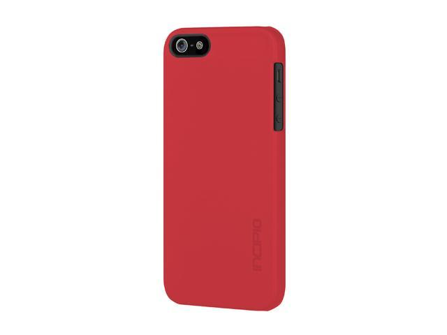 Incipio feather Scarlet Red Solid Ultra Light Hard Shell Case for iPhone 5 / 5S IPH-810