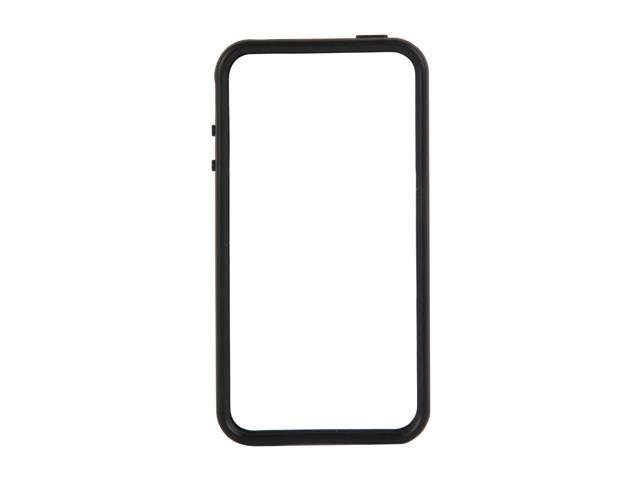 SCOSCHE bandEDGE g4 Black Polycarbonate & Rubber Edge Case for iPhone 4/4S IP4EBKVB