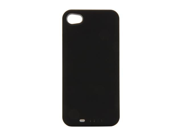 UNU DX Plus Black / Silver 2400 mAh Protective Battery Case For iPhone 4/4S DX-04-2400S