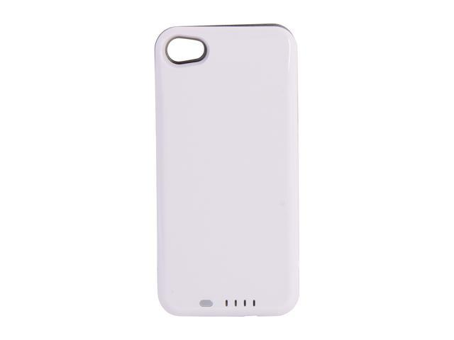 UNU DX Plus White / Silver 2400 mAh Protective Battery Case For iPhone 4/4S DX-04-2400W