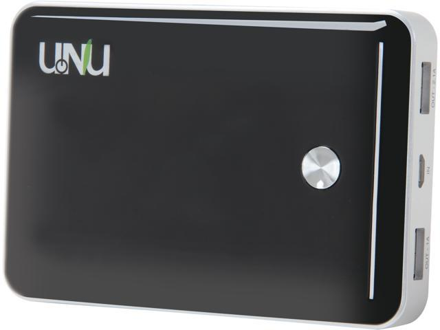UNU Enerpak Vault Black 11000 mAh Dual Port Battery Pack PB-01-11000BS