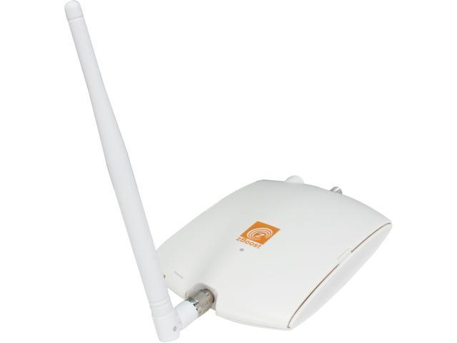 zBoost SOHO, dual-band cell phone signal booster, up to 2500 sq. ft. ZB545