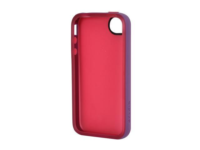BELKIN Essential 050 Paparazzi Pink/Purple Lightning Solid Essential 050 Case for iPhone 4/4S F8Z813ebC06