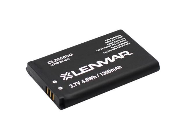 Lenmar Black 1200 mAh Replacement Battery Fits Rugby II A847 CLZ558SG