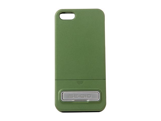 Seidio SURFACE (w/Kickstand) Sage Case For iPhone 5 / 5S CSR3IPH5K-GN