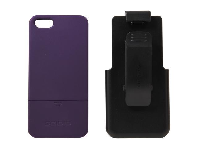 Seidio SURFACE Combo Amethyst Case For iPhone 5 / 5S BD2-HR3IPH5-PR