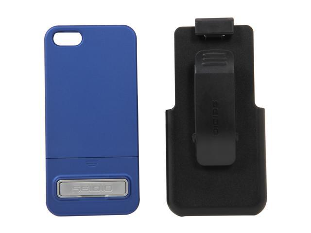 Seidio SURFACE Combo (w/Kickstand) Royal Blue Case For iPhone 5 / 5S BD2-HR3IPH5K-RB