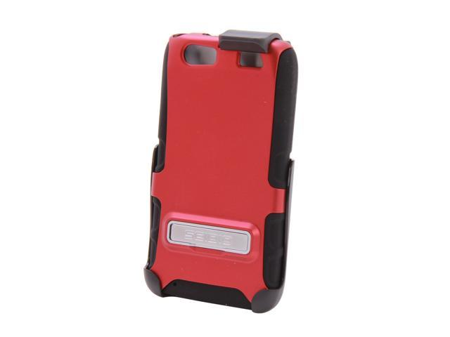 Seidio DILEX Combo with Metal Kickstand Garnet Red Holster For Motorola Atrix HD BD2-HK3MTAT3K-GR