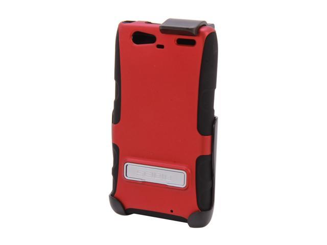 Seidio ACTIVE Combo with Metal Kickstand Garnet Red Holster For Motorola Droid RAZR MAXX BD2-HK3MTRMK-GR
