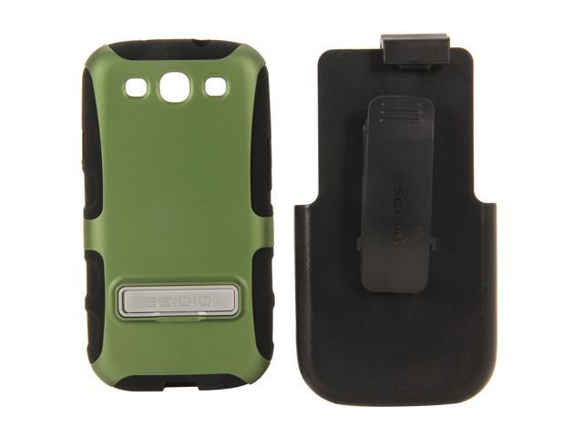 Seidio DILEX Combo with Metal Kickstand Sage Holster For Samsung Galaxy S III BD2-HK3SSGS3K-GN