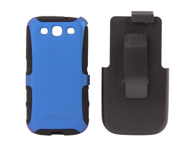 Seidio ACTIVE Combo with Metal Kickstand Royal Blue Holster For Samsung Galaxy S III BD2-HK3SSGS3-RB