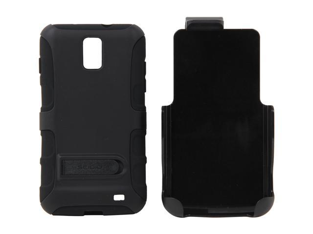 Seidio DILEX Combo (with kickstand) Black Holster For Samsung Skyrocket BD2-HK3SSSKYK-BK