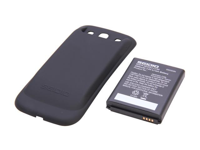 Seidio Innocell Black 3500 mAh Extended Life Battery w/ NFC For Samsung Galaxy S3 BACY35SSGS3N-BK