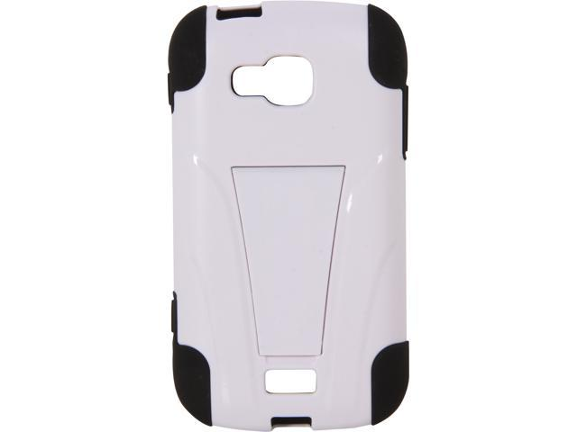 AMZER Black / White Double Layer Hybrid Case with Kickstand For Samsung ATIV Odyssey SCH-I930 AMZ95393