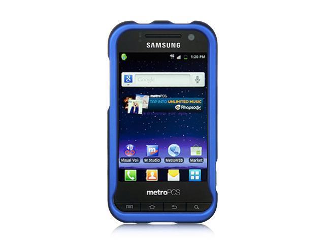 Samsung Galaxy S Attain 4G R920 Blue Crystal Rubberized Case