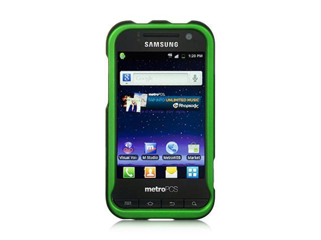 Samsung Galaxy S Attain 4G R920 Green Crystal Rubberized Case