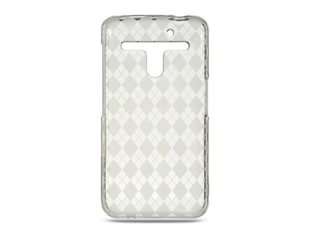 Luxmo Clear Clear Checker Design Case & Covers LG Revolution/Esteem VS910