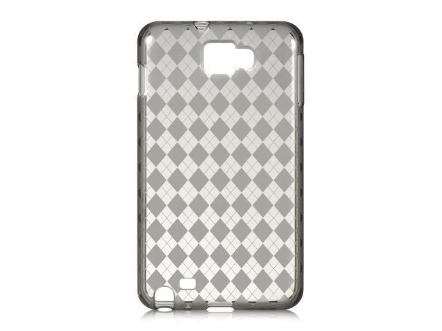 Samsung Galaxy Note I717 Smoke Checker Design Crystal Skin