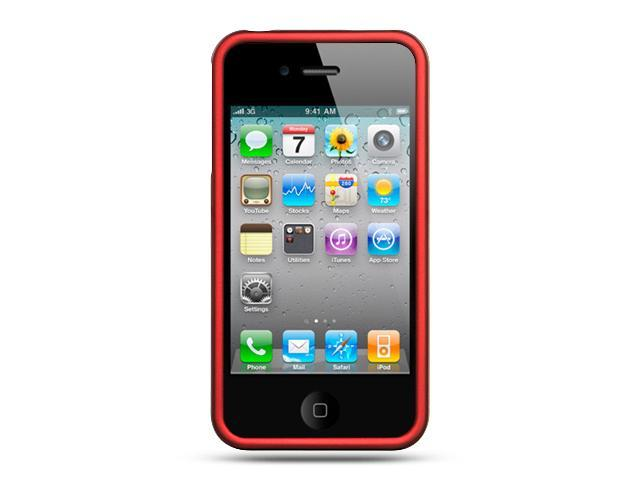 Luxmo Black Red Case & Covers Apple iPhone 4S/iPhone 4
